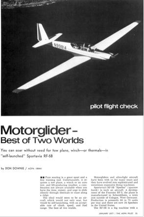 Testbericht RF5B 1977-01-01 AOPA