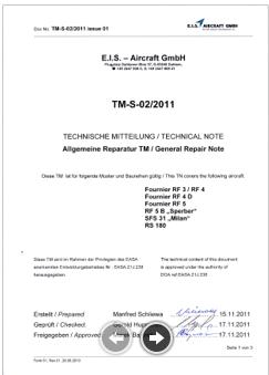 TM-S-02 -2011  EIS  allg. Reparatur